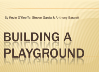 Building a Playground